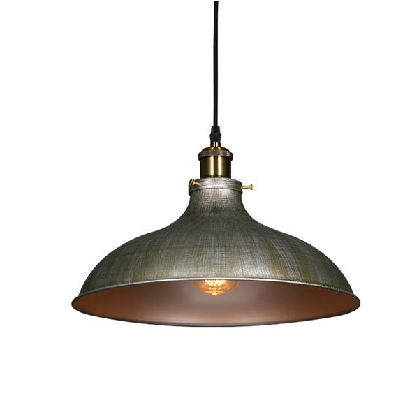 European style wrought iron industrial hanging light for bar