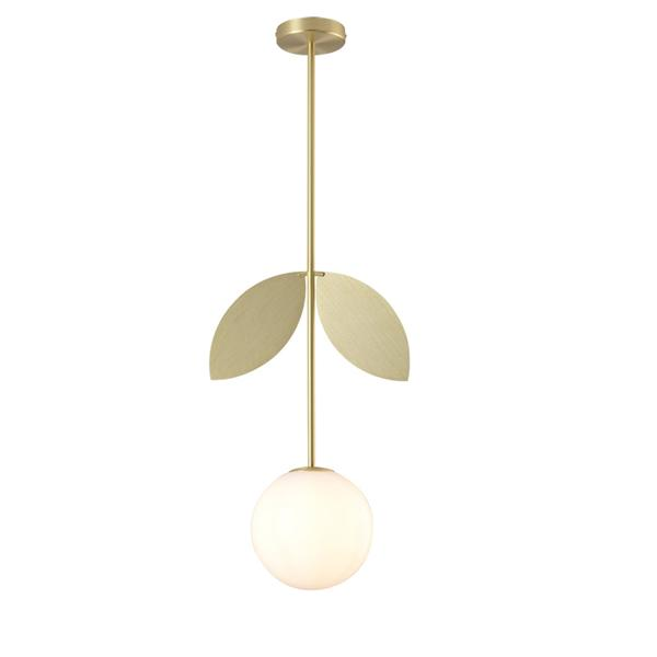 Metal butterfly round ball chandelier