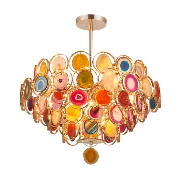 New cheap agate color chandelier